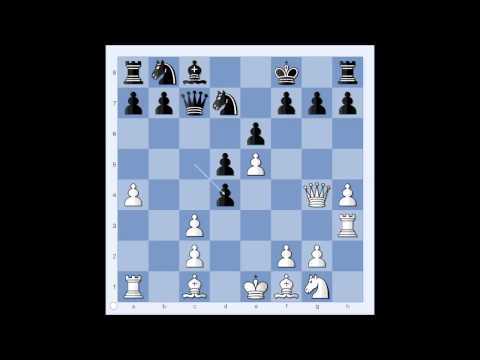 French Defense: Torber vs Menke corr 1950