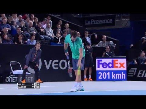 Gulbis vs Gasquet 1/8ém 2016