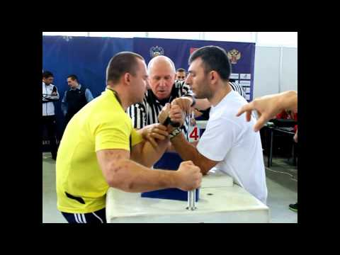 Алексей ВАСИЛЬЧЕНКО vs Алекс МУНДЖИШВИЛИ кат. 80кг (16.11.14) левая рука