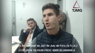 Policial civil Rodrigo Castro Salgado da Costa relata tiroteio entre policiais em JF