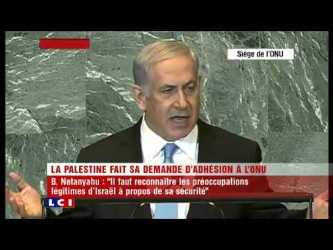 Discours Benjamin Netanyahu (Israël) à l'ONU 2011