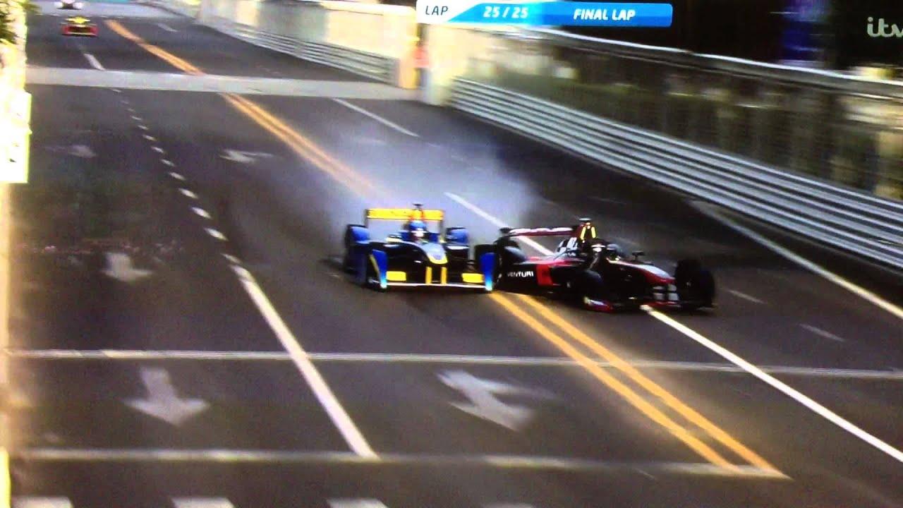 Formula Crash Formula e Heidfeld Prost Crash