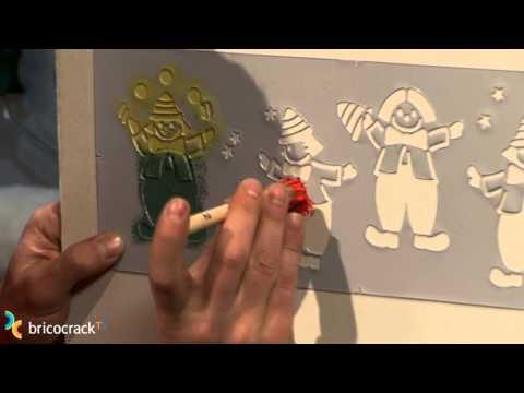 Hacer un estarcido (BricocrackTV)