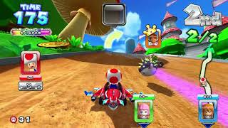 Mario Kart Arcade GP DX (720p) with Toad マリオカート アーケードグランプリDX #169
