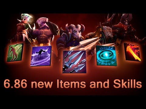 6.86 new Items, Aghanims and Skills — Dota 2