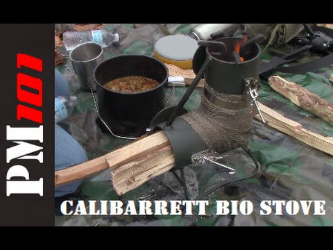 Calibarrett Bio Stove: Emergency/Base Camp Cooking Solution
