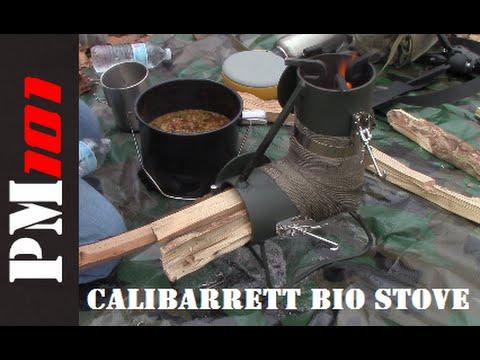 Calibarrett Bio Stove: Emergency/Base Camp Cooking Solution  - Preparedmind101