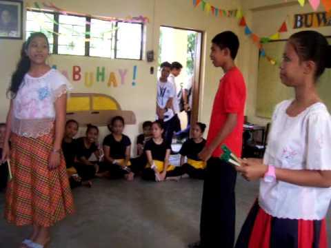 Balagtasan: wikang Puro O Wikang Halo - Sharmaine Rica Sindayen, Georgette Elorza At Nikko Marmita video
