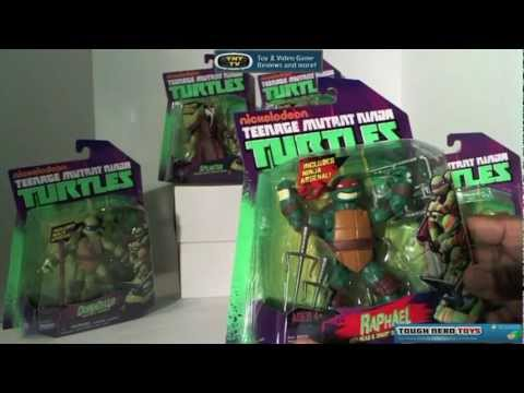 Nickelodeon Teenage Mutant Ninja Turtles BUST IT OPEN!! Action Figure review
