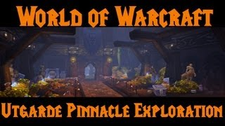 WoW Glitch 5.1 - Major Utgarde Pinnacle Exploration