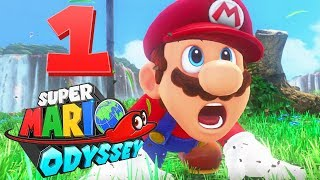 Super Mario Odyssey ITA - BOWSER SCONFIGGE MARIO! - Walkthrough Gameplay HD - Parte #1