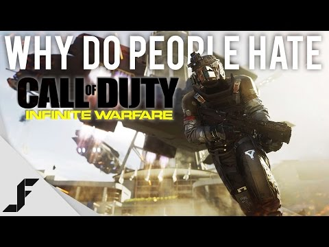 Why does the Internet hate Call of Duty Infinite Warfare?