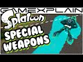Splatoon - All Special Weapons Showcase (60fps)