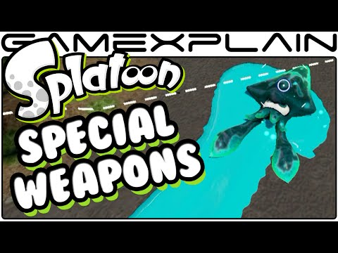 Splatoon - All Special Weapons Showcase (60fps) #1