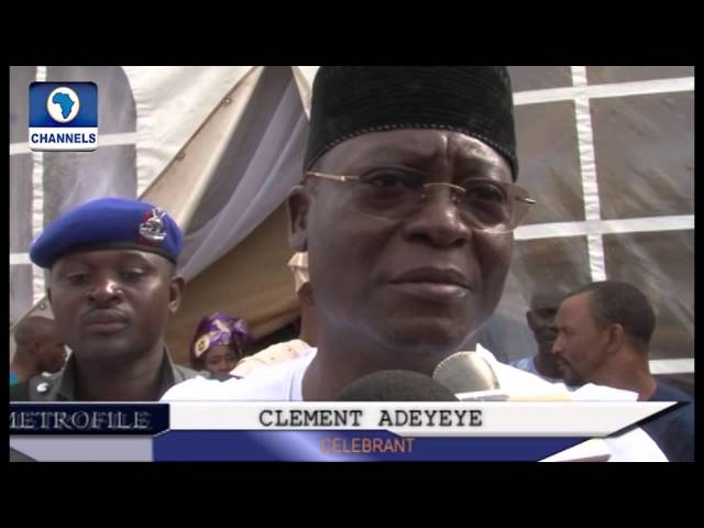 Metrofile: New Min  Of State For Work, Clement Adedayo Gives Thanks To God