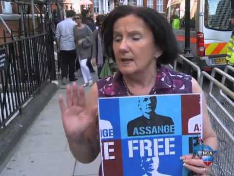 Support continues for Assange