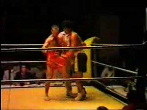 First Thai Boxing Fight