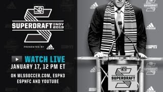 2013 MLS SuperDraft LIVE BROADCAST