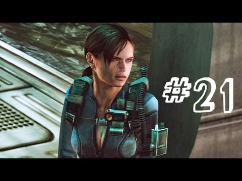 Resident Evil Revelations Gameplay Walkthrough Part 21 - The Virus - Campaign Episode 9