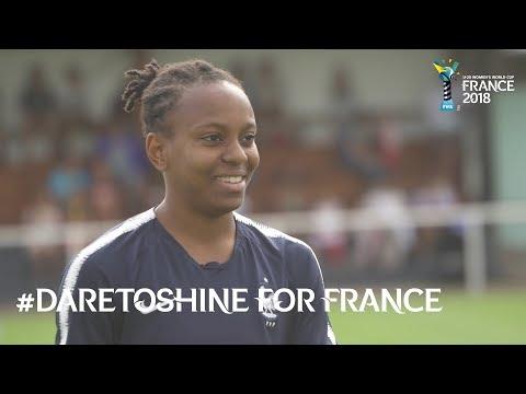 #DareToShine for France - FU20 Women's World Cup France 2018
