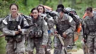 Diane Sawyer: Female Soldiers in Afghanistan Warzones