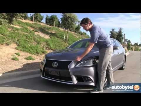 2013 Lexus LS 460 F-Sport Test Drive & Luxury Car Video Review