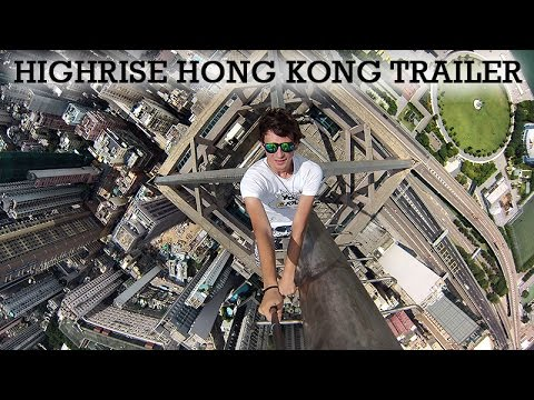 Crazy Russians Climb Hong Kong Skyscrapers