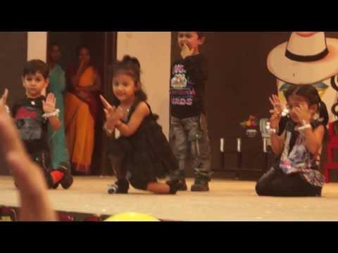 Sasha dancing for Taare Zamein Par - Bam Bam Bole