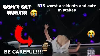 BTS WORST ACCIDENTS AND CUTE MISTAKES 2018 2019 Love yourself tour edition * WATCH TILL THE END*