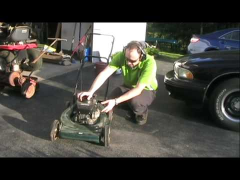 Cleaning Carburetor on Craftsman Lawn Mower