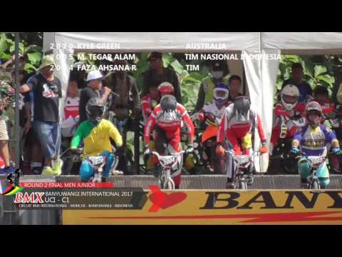 FINAL RACE MEN JUNIOR  ROUND 2