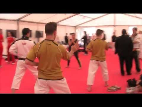 Warm-up Kata Men Team Spain 48th European Karate Championships