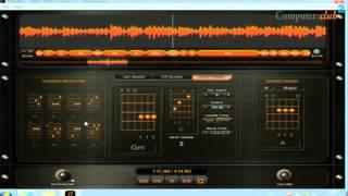 Riffstation zur Erkennung von Akkorden und Tönen aus Musikdaten
