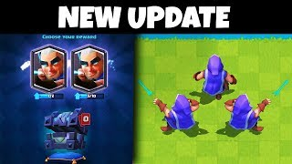 hacker caught using the 'magic archer' early in Clash Royale...