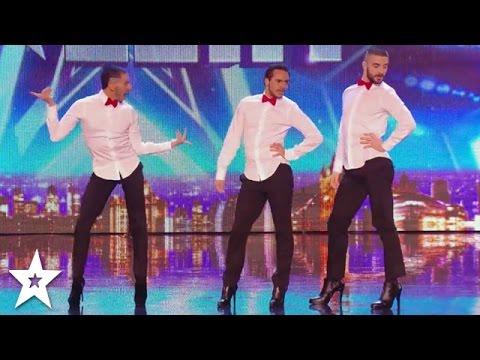 MEN IN HEELS Dance INCREDIBLE SPICE GIRLS Tribute on Britain's Got Talent!