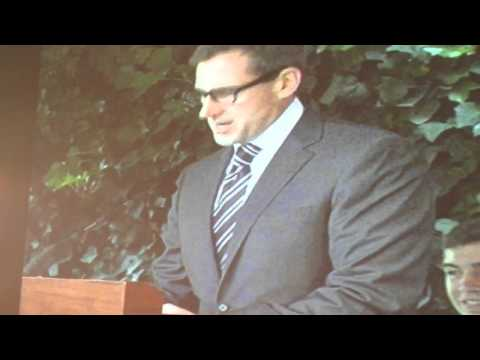 Steve Carrell's speech at Princeton University