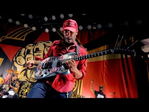 Tom Morello gets political