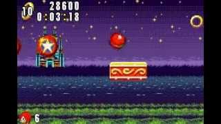 Sonic Advance - Stage 3 Act 1 - Casino Paradise Zone