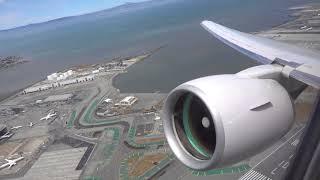 UNITED AIRLINES Boeing 777-200 / San Francisco to Honolulu / 4K Video