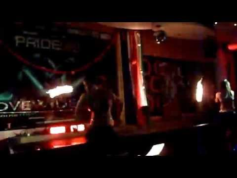 06.29.13 Fire Dance Show from O Bar Pride Party 2013