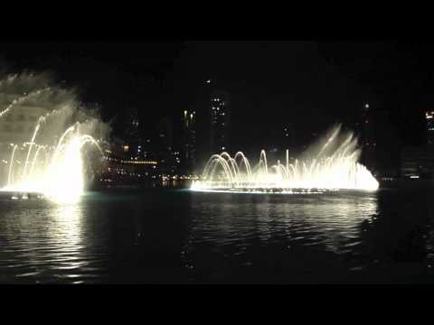 Dubai Fountain - Time to say goodbye