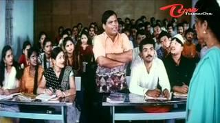 Telugu Comedy Scene English Lecturer Hot Navel Show