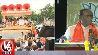 Telangana BJP's 'Jana Chaitanya Bus Yatra' Marks Second Day