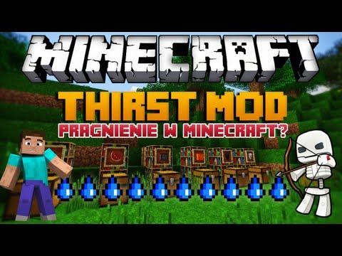Minecraft 1.6.2 Mody - Thirst Mod - Pragnienie w Minecraft?