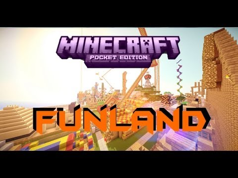 Minecraft PE Custom Map Funland [DOWNLOAD]