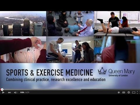 Sports and Exercise Medicine - Combining clinical practice, research excellence and education