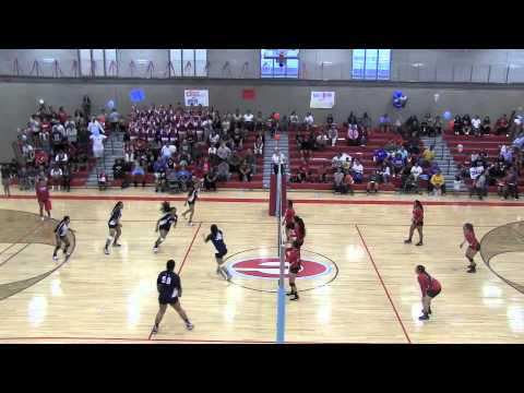 Granger High School Volleyball vs Hunter High School 2013