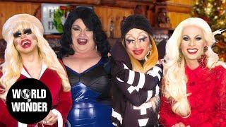 DRAG QUEENS REACT: Holiday TV Movies w/ Trixie, Katya, Eureka & Yuhua