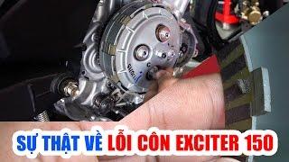 Sự thật sai lầm về Lỗi Côn xe Yamaha Exciter 150 ▶