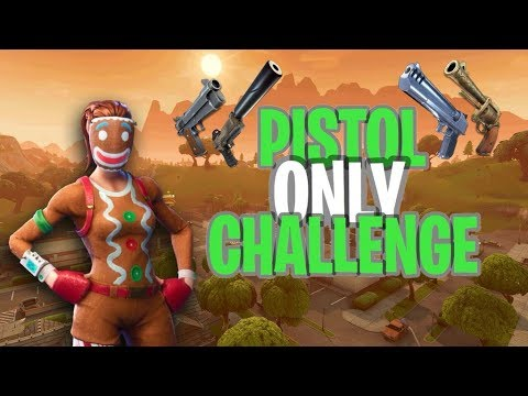 PISTOL ONLY FOR WARMUP GAME? Fortnite Battle Royale